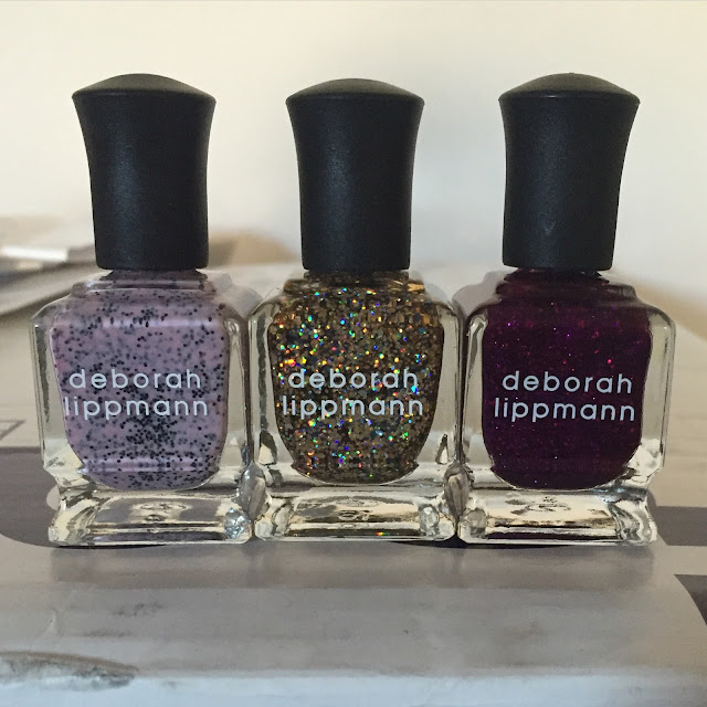 Deborah Lippmann, Deborah Lippmann Flash Dance, Deborah Lippmann Dance Music Collection, nails, nail polish, nail lacquer, nail varnish, manicure, #ManiMonday, Deborah Lippmann I'm Not Edible, Deborah Lippmann Glitter And Be Gay