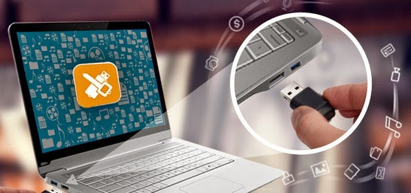 USB Secure stick locking application
