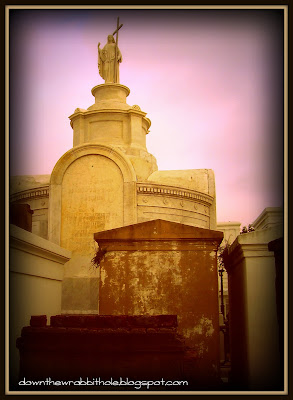family vaults, New Orleans graveyard, St Louis Cemetery No 1