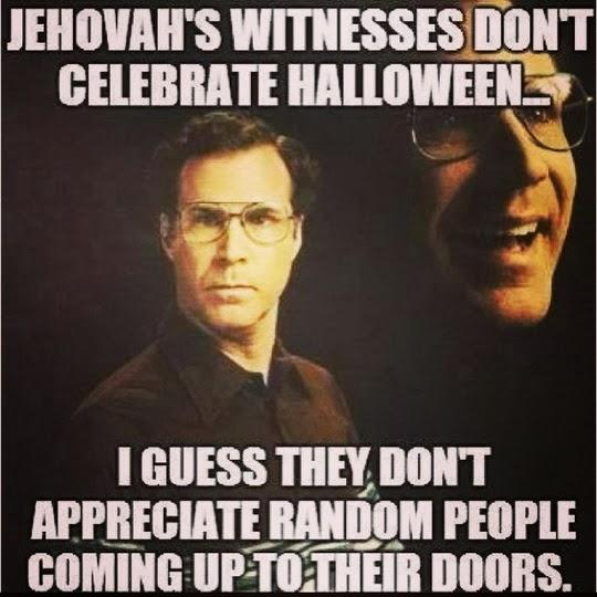 Picz I Like: Will Ferrell Jehovah's Witness Halloween