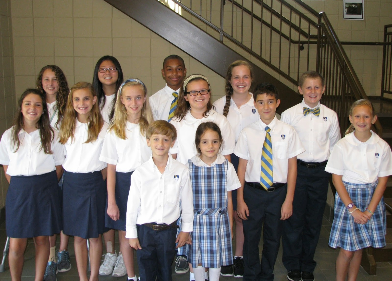 Montgomery Catholic Elementary Campuses Elect 2014-15 Student Council 2
