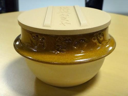 峠の釜めしの陶器