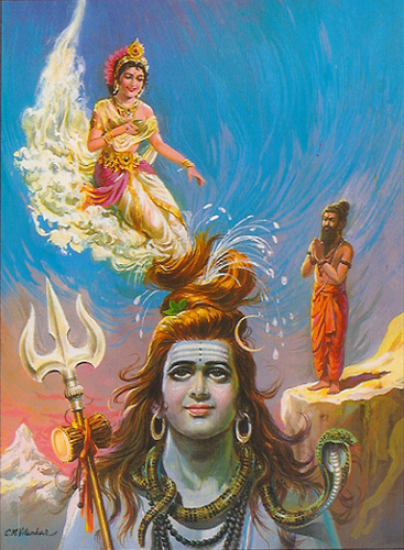 Beautiful God Shiv Ganga Wallpapers for free download