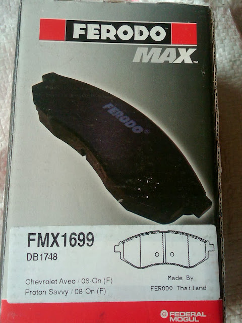 Kampas Rem Ferodo Max utk Chevrolet Kalos (FMX1699)