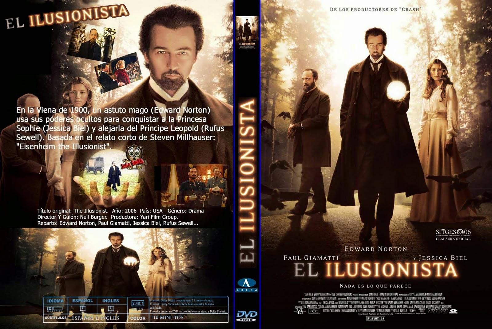 El Ilusionista DVD