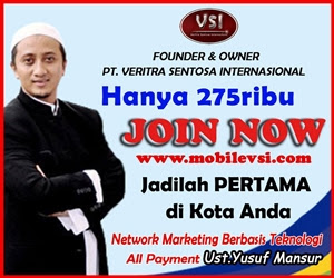 Mobilevsi.com - Network Marketing Berbasis Teknologi