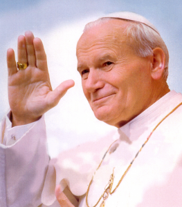 Image fromhttp://nunspeak.wordpress.com/2011/04/30/remembering-pope-john-paul-ii/