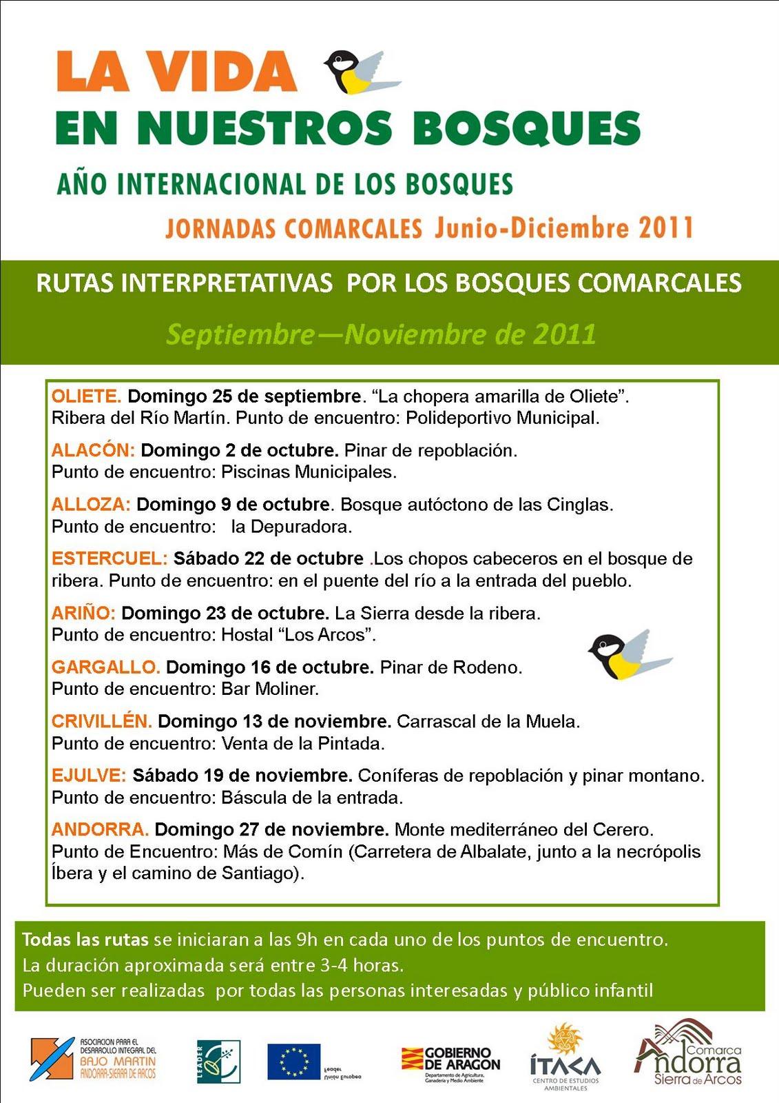 Cea Ítaca: Rutas por los bosques y montes comarcales