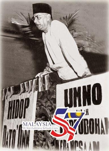 Titik titik kemerdekaan UMNO menentang Malayan Union