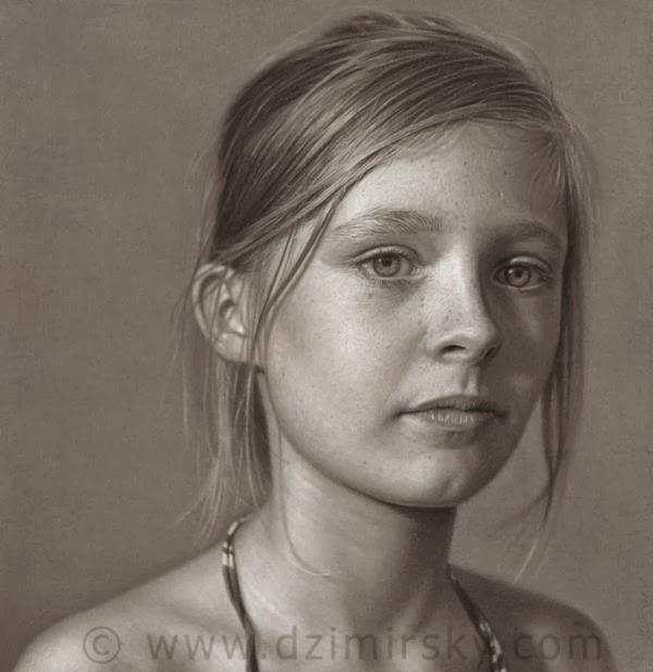 Cute Portrait Drawings by Dirk Dzimirsky