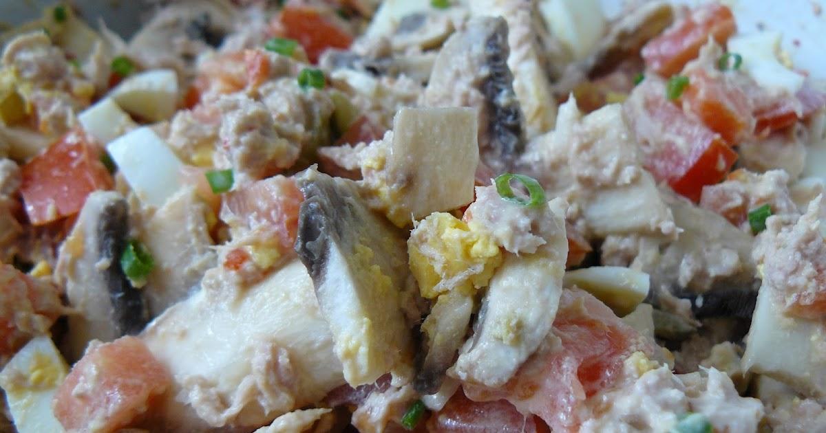 La cuisine entre soeurs salade de champignons - Salade de champignons frais ...