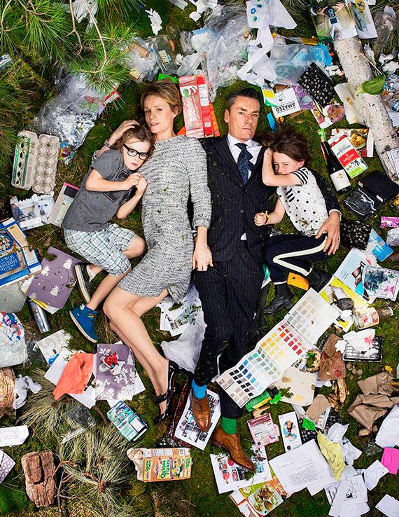 7 Days of Garbage ©Gregg Segal