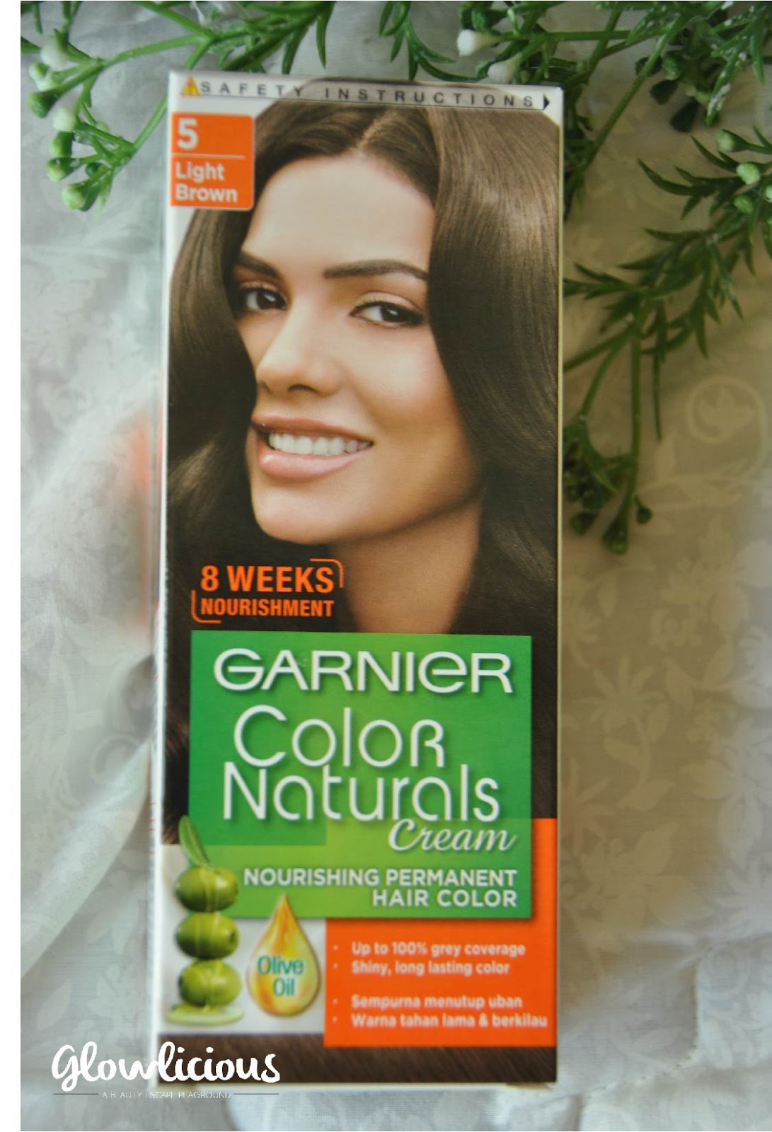 English Version Garnier Color Naturals Cream Nourishing