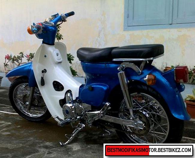 Gambar Modifikasi Motor Honda