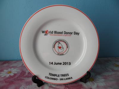உலக இரத்ததானம் செய்வோர் தினம் World Blood Donor Day 14.06.2013