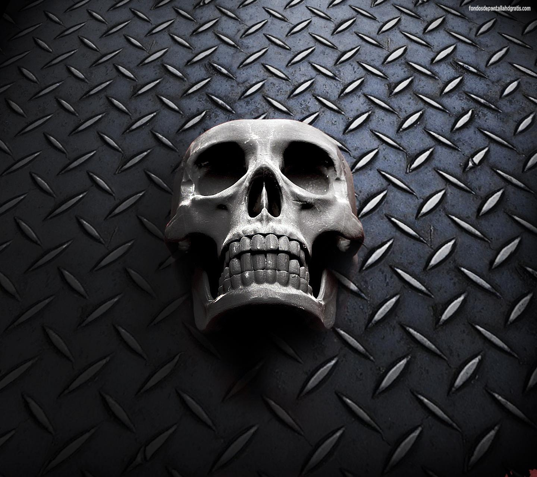 Imágenes de Heavy Metal para fondo de pantalla celular - Wallpapers para smartphones y pc para descargar Calavera