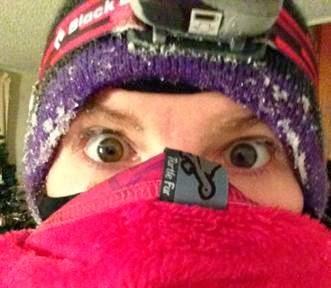 Frozen Eyelashes
