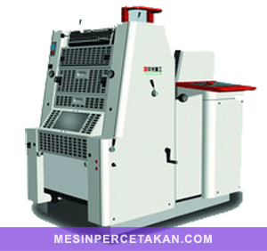 HGM 52 | Mesin cetak 1 warna | Size 52 x 36 cm ( 4 form rolls )