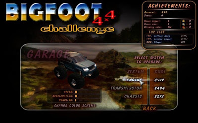 Bigfoot 4x4 Challenge Full version legal game for free