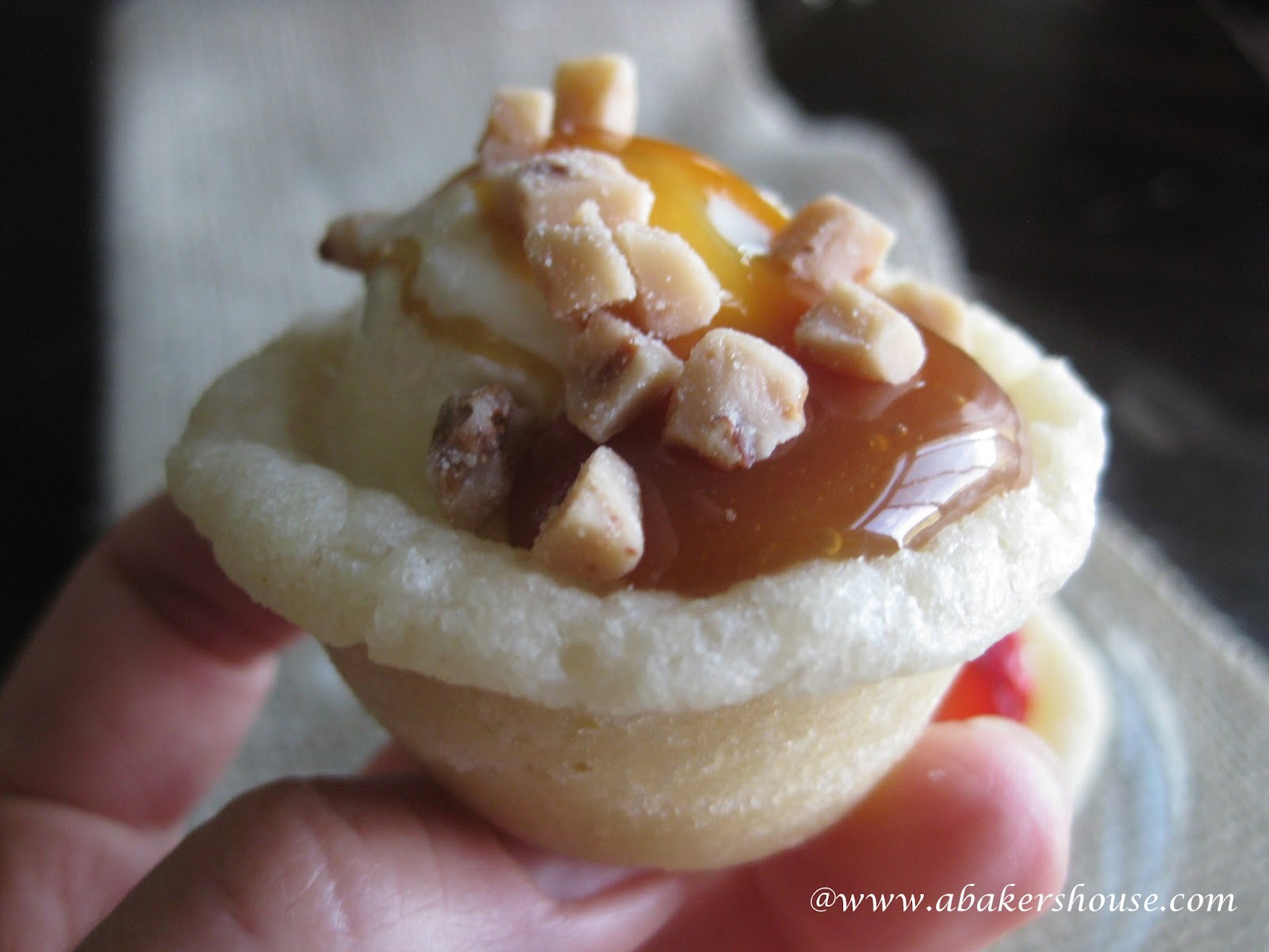 Mini Ice Cream Cookie Cups Recipe — Dishmaps