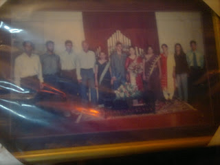 Wedding group foto of Brian Weerappuli family