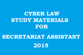Cyber Law Questions and Answers