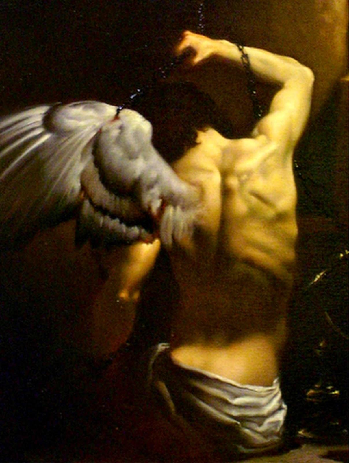 pinturas-al-oleo-de-angeles