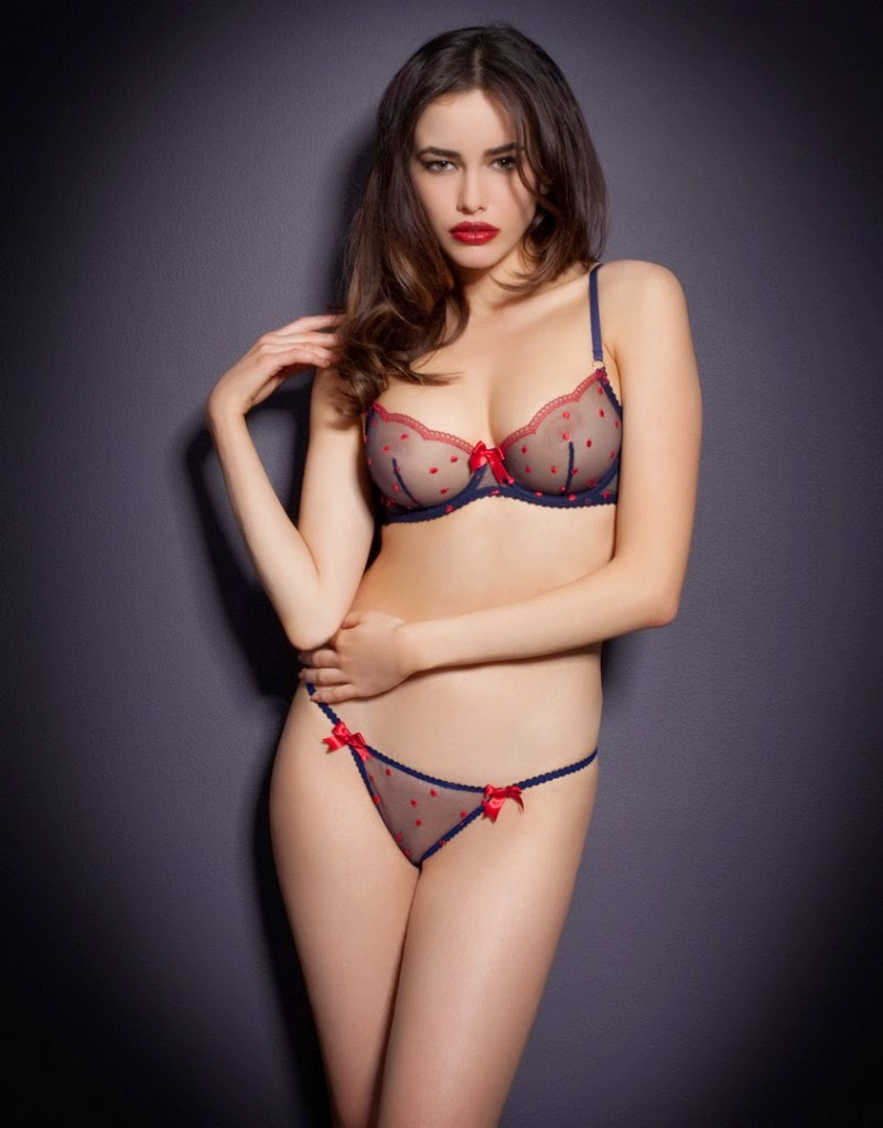 Luxury lingerie from Agent Provocateur.