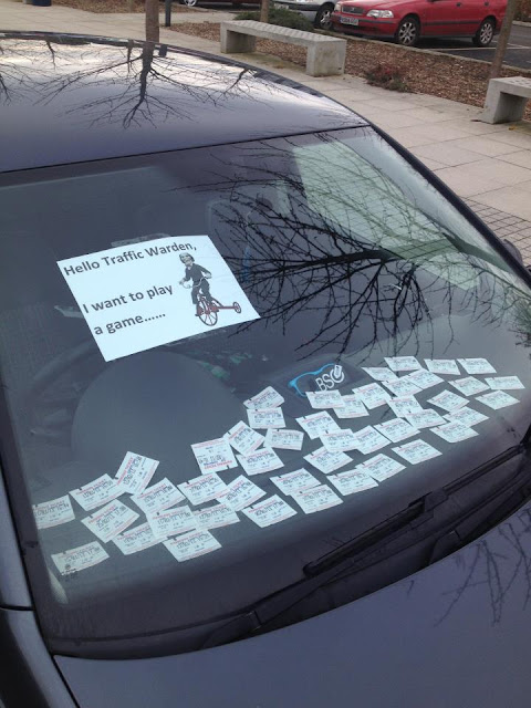 Prank on Parking Attendent