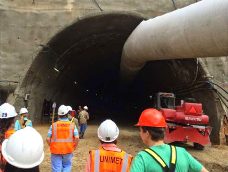 La Metro en el túnel Baralt,Junio 2014