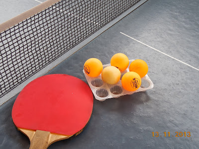 Si pe masa de tenis le sta bine