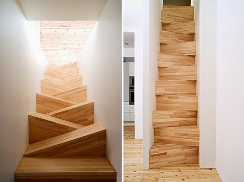twisted stairs design