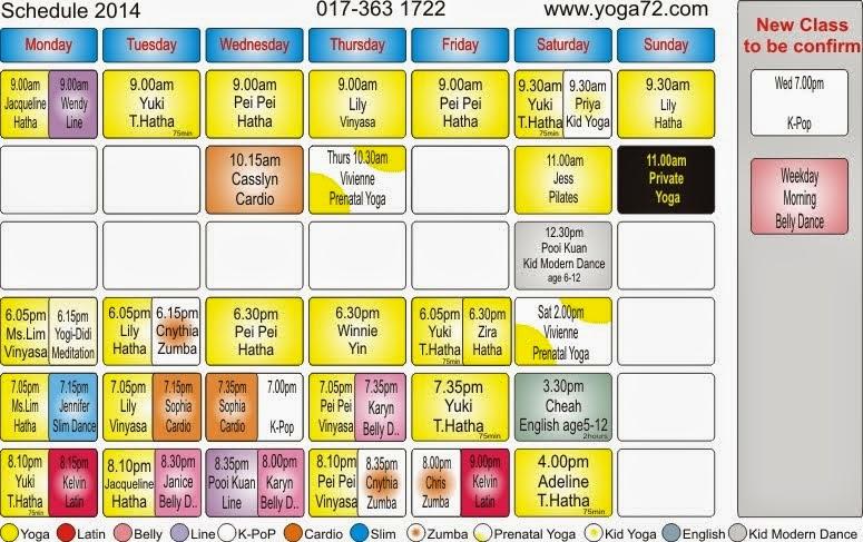 schedule 2014