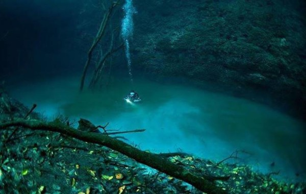 Amazing Underwater River in Mexico