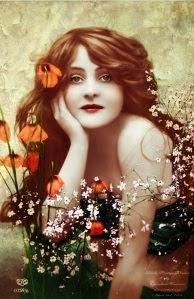 Summer Vintage Woman