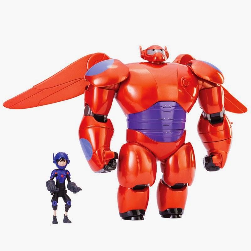 Boneco Baymax de Luxo com Asas - Big Hero 6 Disney - Sunny