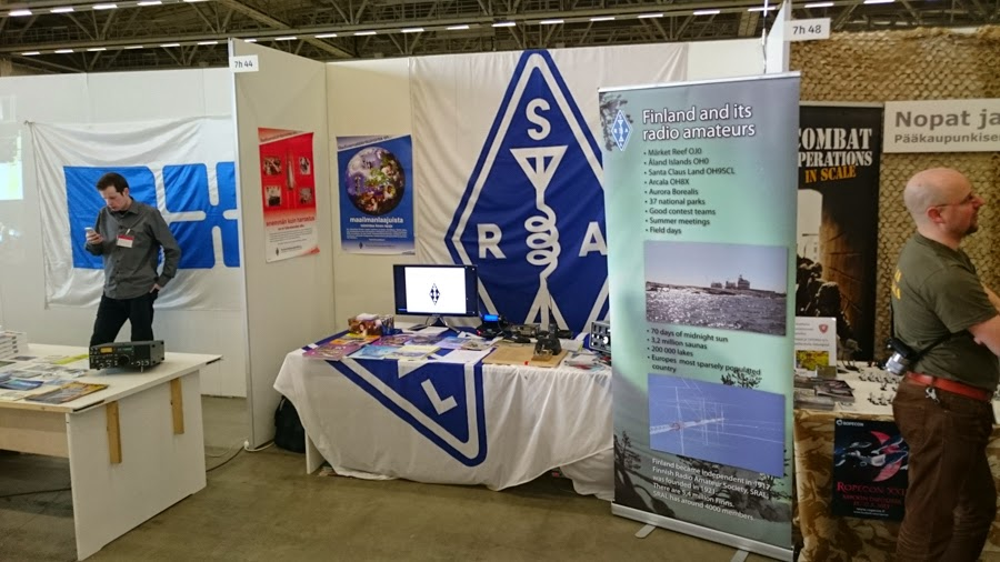 SRAL mukana Model Expo messuilla Messukeskuksessa 2015