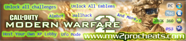 Xbox 360 PS3 PC MW2 Online Aimbot For Free!