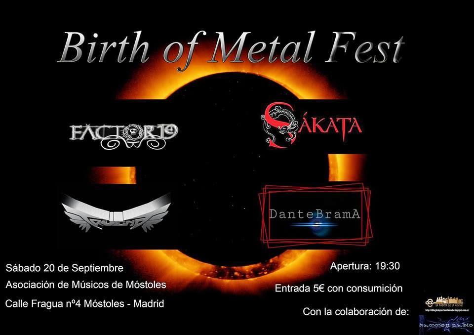 I BIRTH OF METAL FEST
