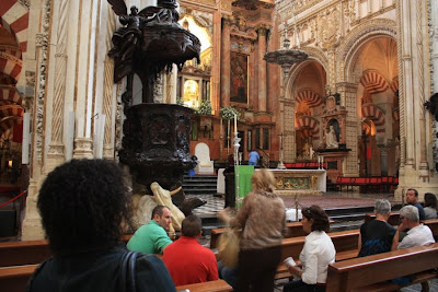Cathedral of Cordoba in Spain