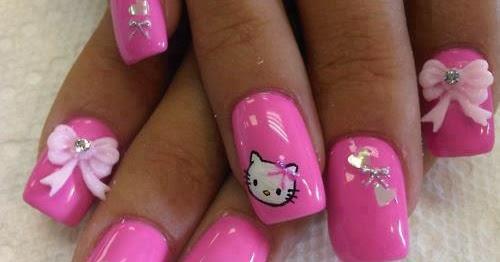 Fashion diva come fare una nail art hello kitty clicca - Diva nails prodotti ...