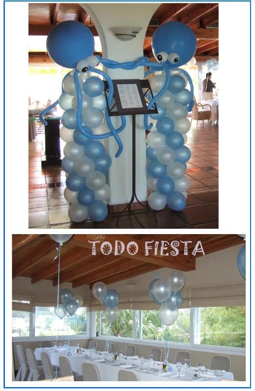 Decoraci N Con Globos De Todo Fiesta Decoraciones Para 1