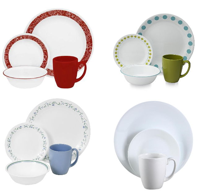 Corelle 16 Piece Dinnerware Sets $16.99 (Reg $39.99) + Free Store Pickup at KMart or Free Shipping With Shop Your Way Max - HEAVENLY STEALS  sc 1 st  Heavenly Steals & Corelle 16 Piece Dinnerware Sets $16.99 (Reg $39.99) + Free Store ...