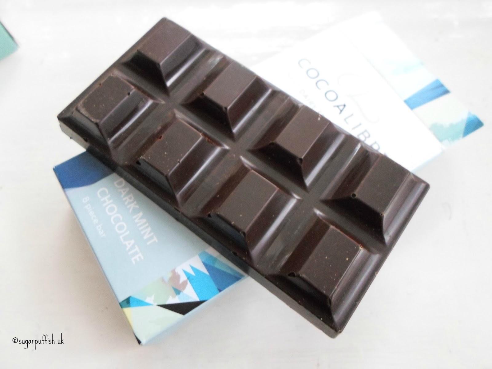 cocoa libre dark mint bar dairy free