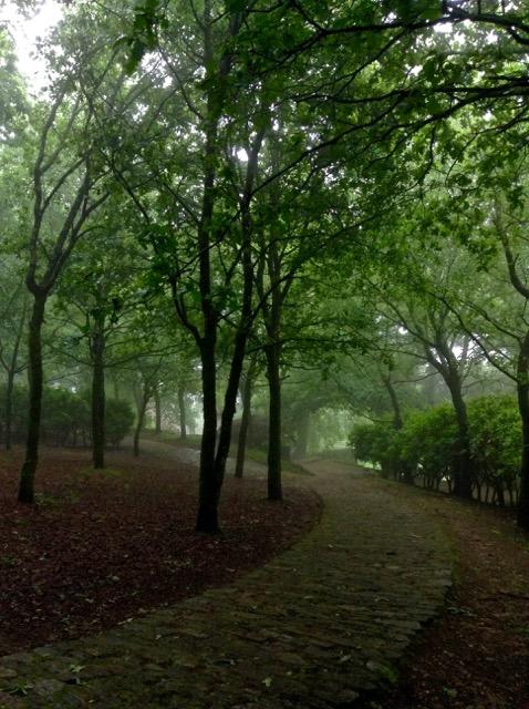 Bonaval Park, Santiago de Compostela, Spain