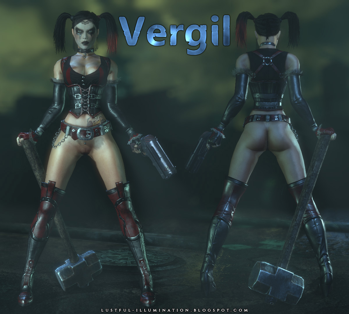 Batman arkham city naked women mod sexy photo
