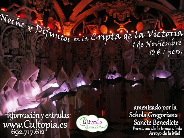 Noche de Difuntos en la Cripta de la Victoria, Málaga