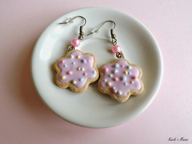 Ciastka na różowo