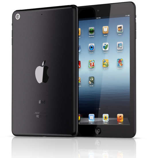 Ipad mini render picture photo