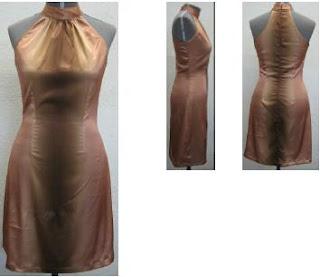 fotos de modelos de Vestidos com Gola